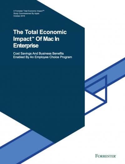 The Total Economic Impact of Mac In Enterprise