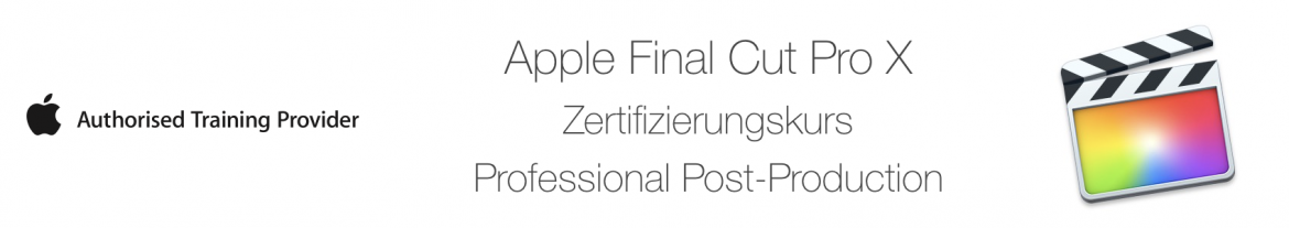  Apple Final Cut Pro X Professional Post-Production (ACP)