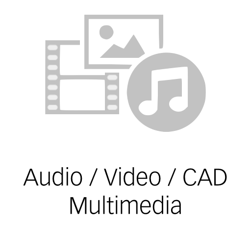 Audio, Video, CAD, Multimedia