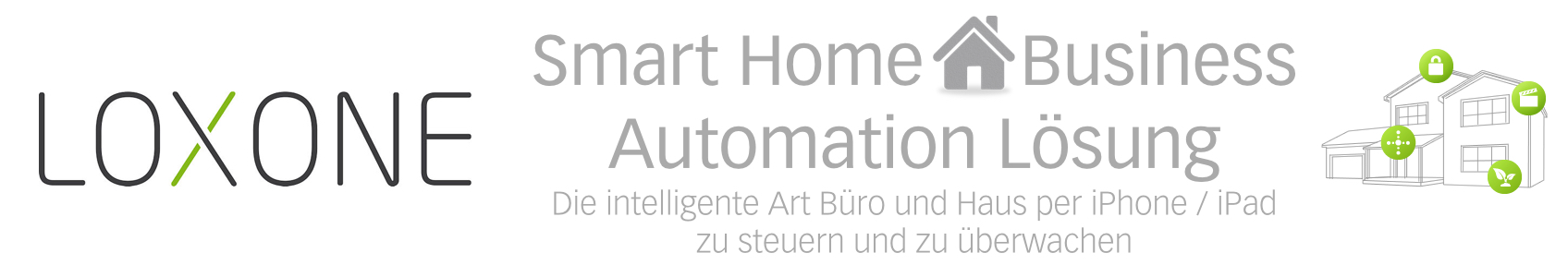 loxone hausautomatisierung smart home business automation l sung. Black Bedroom Furniture Sets. Home Design Ideas